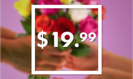 سفارش آنلاین دسته گل رز سفید تورنتو کانادا!