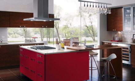 طراحی آشپزخانه مدرن و لاکچری برای خانه های بزرگ و کوچک در تورنتو کانادا