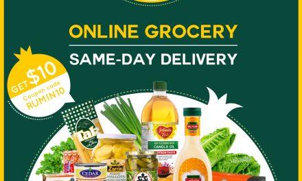 خرید آنلاین مواد غذایی رومی بازار برای روزهای قرنطینه